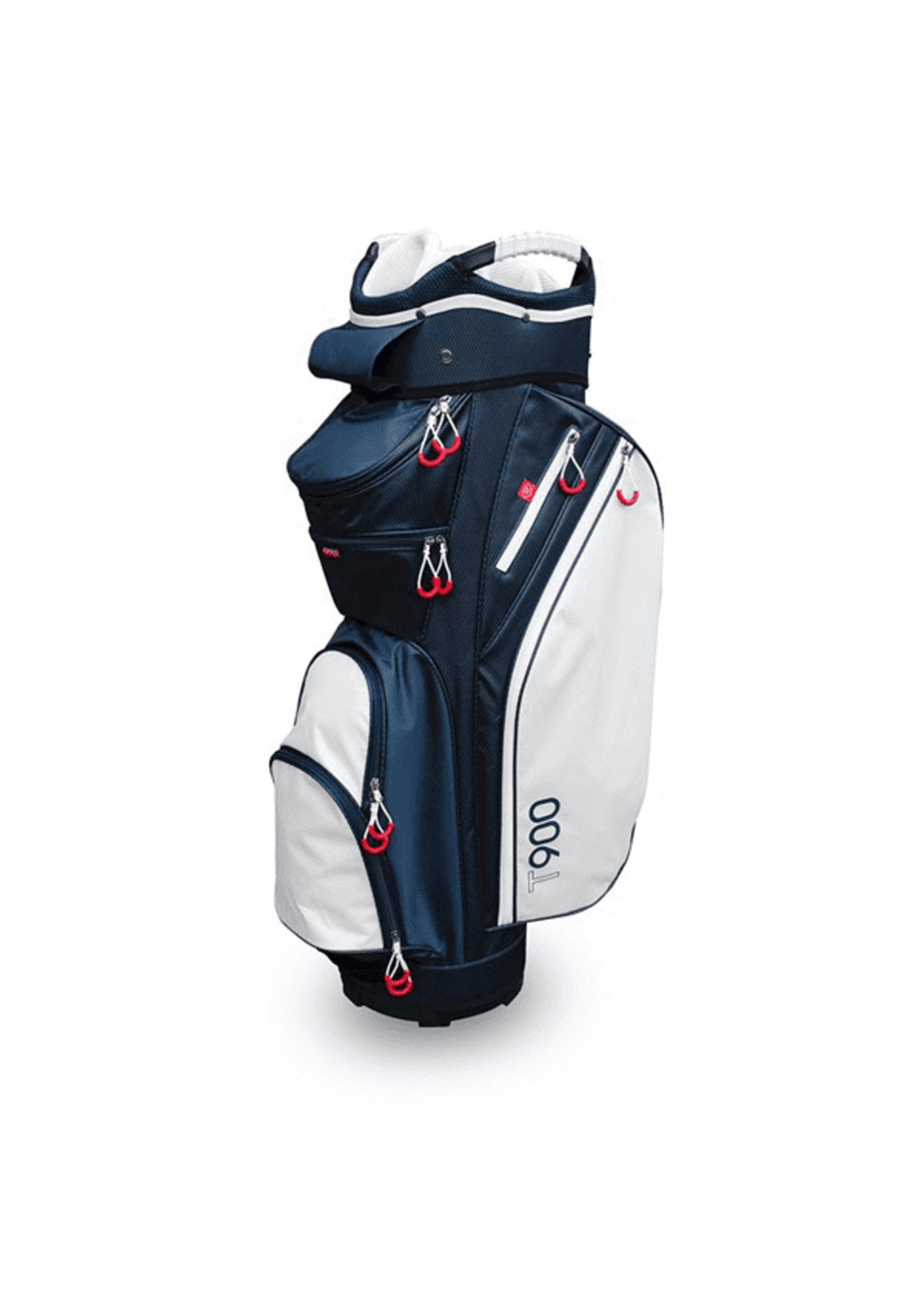 Masters Masters T900 Cart Bag, Navy/White (2020)