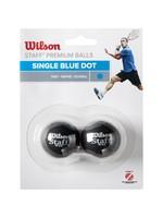 Wilson Wilson Staff Blue Dot Squash Ball - Pack of 2
