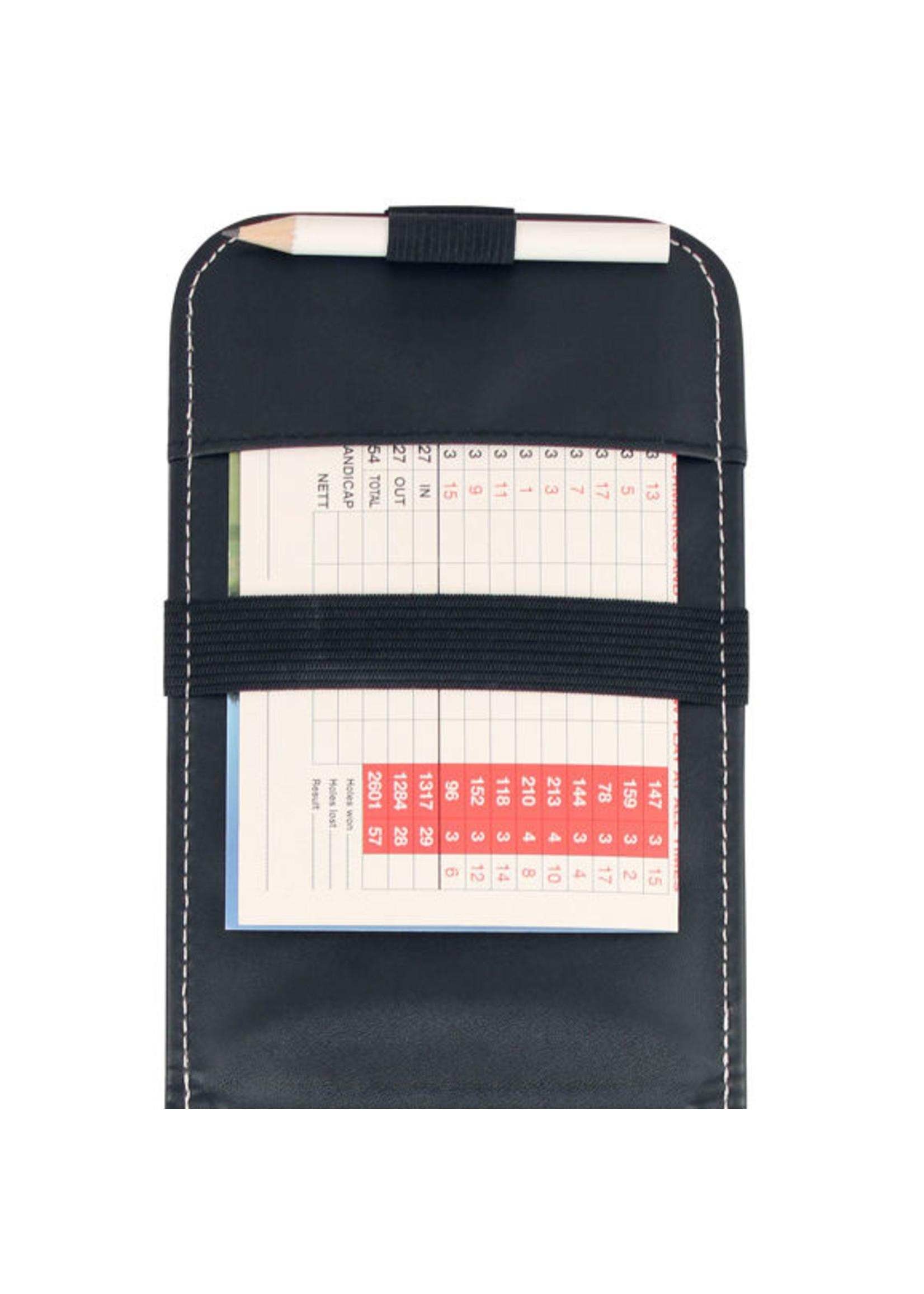 Masters Masters Premium Leatherette Scorecard Holder