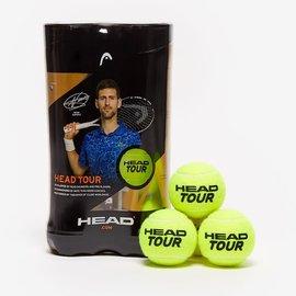 Head Head Tour Tennis Ball, 2 Pack (2020)