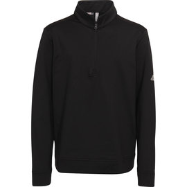 Adidas Adidas Boys Golf Solid Half Zip Layer, Black, (2020)