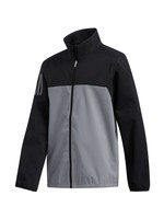Adidas Adidas Boys Provisional Waterproof Jacket, Black/Grey, (2020)