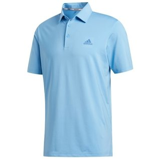Adidas Adidas Mens Ultimate 365 2.0 Solid Polo Shirt (2020), Blue