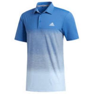 Adidas Adidas Ultimate 365 Print Mens Polo Shirt (2020), Blue