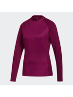 Adidas Adidas COLD.RDY Mock Neck Ladies Golf Top L/S