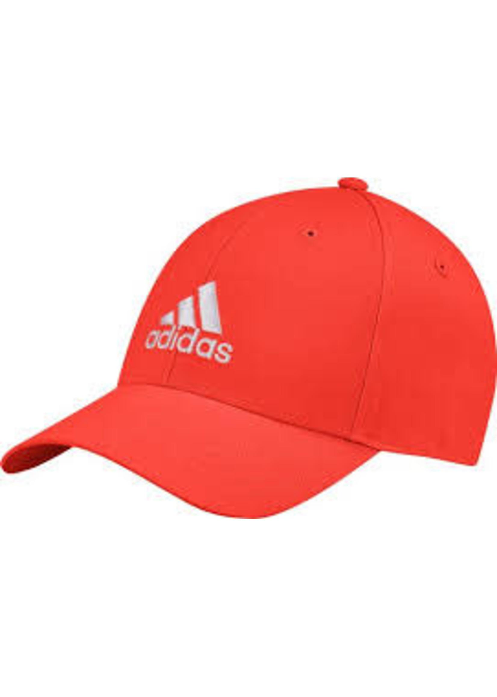 Adidas Adidas Baseball Cap, Red/White (2020)
