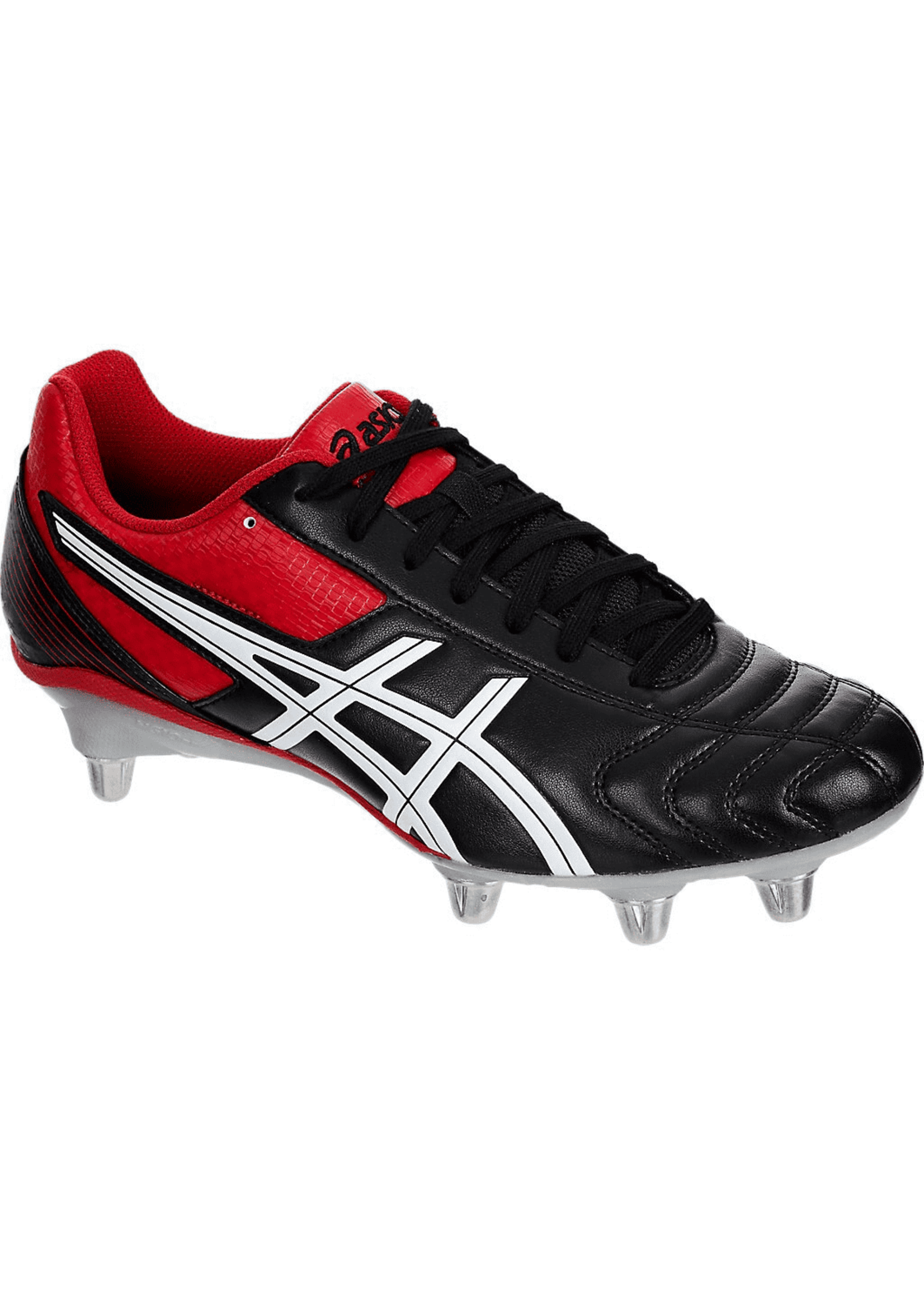 Asics Asics Leathal Tackle Mens Rugby Boots (2020), Black/Racing Red/White