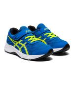 Asics Asics Contend 6 PS Junior Running Shoe (2020), Directorie Blue/ Lime Zest