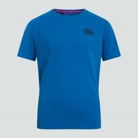 Canterbury Canterbury Vapodri Poly Logo Junior Tee - Aster Blue (2020)