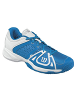 Wilson Wilson Stance Elite HC Mens Tennis Shoes Pool/White/White 7.5