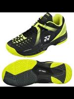 Yonex Yonex Power Cushion Durable Mens Tennis Shoe Black/Yellow 7.5