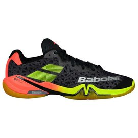Babolat Babolat Shadow Tour Mens Indoor Shoe (2018) Black/Red/Yellow 7
