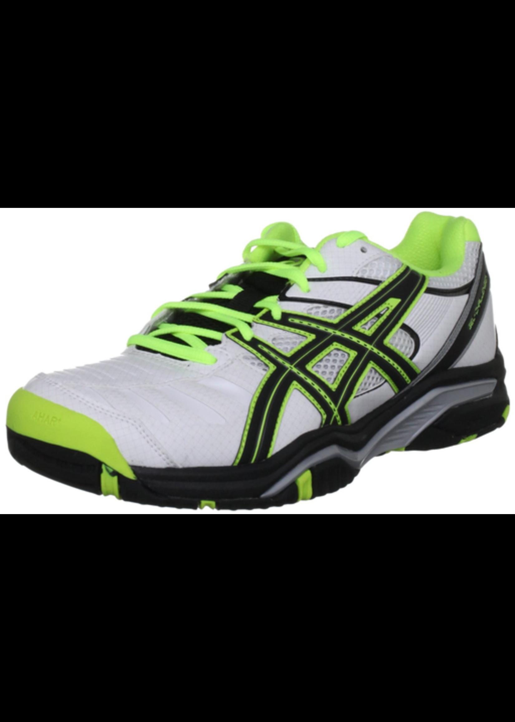 Asics Asics Gel-Challenger 9 Mens Tennis Shoe White/Black/Flash Yellow 7