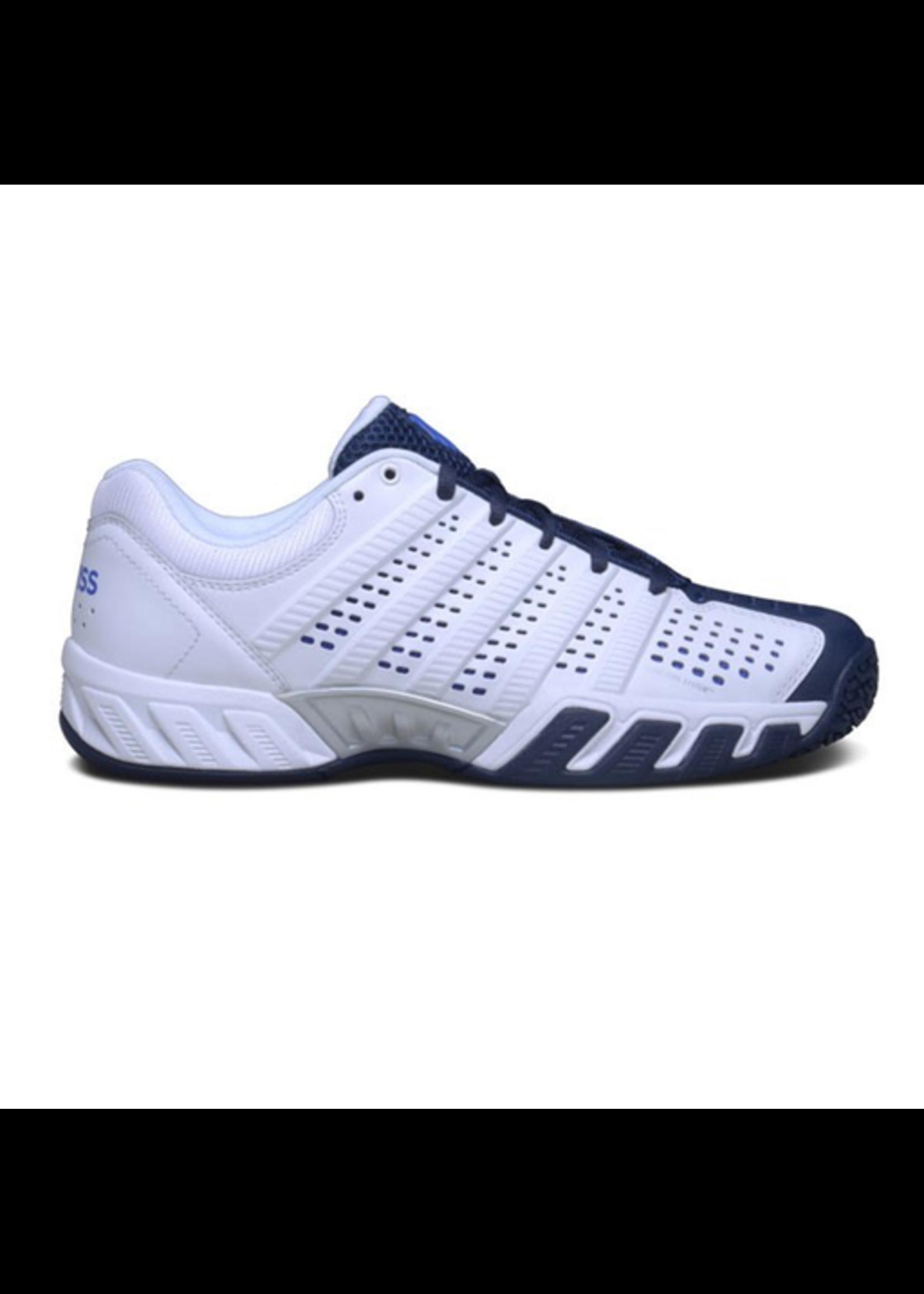 K Swiss Kswiss Big Shot Light 2.5 Mens tennis shoes White/Navy 7.5