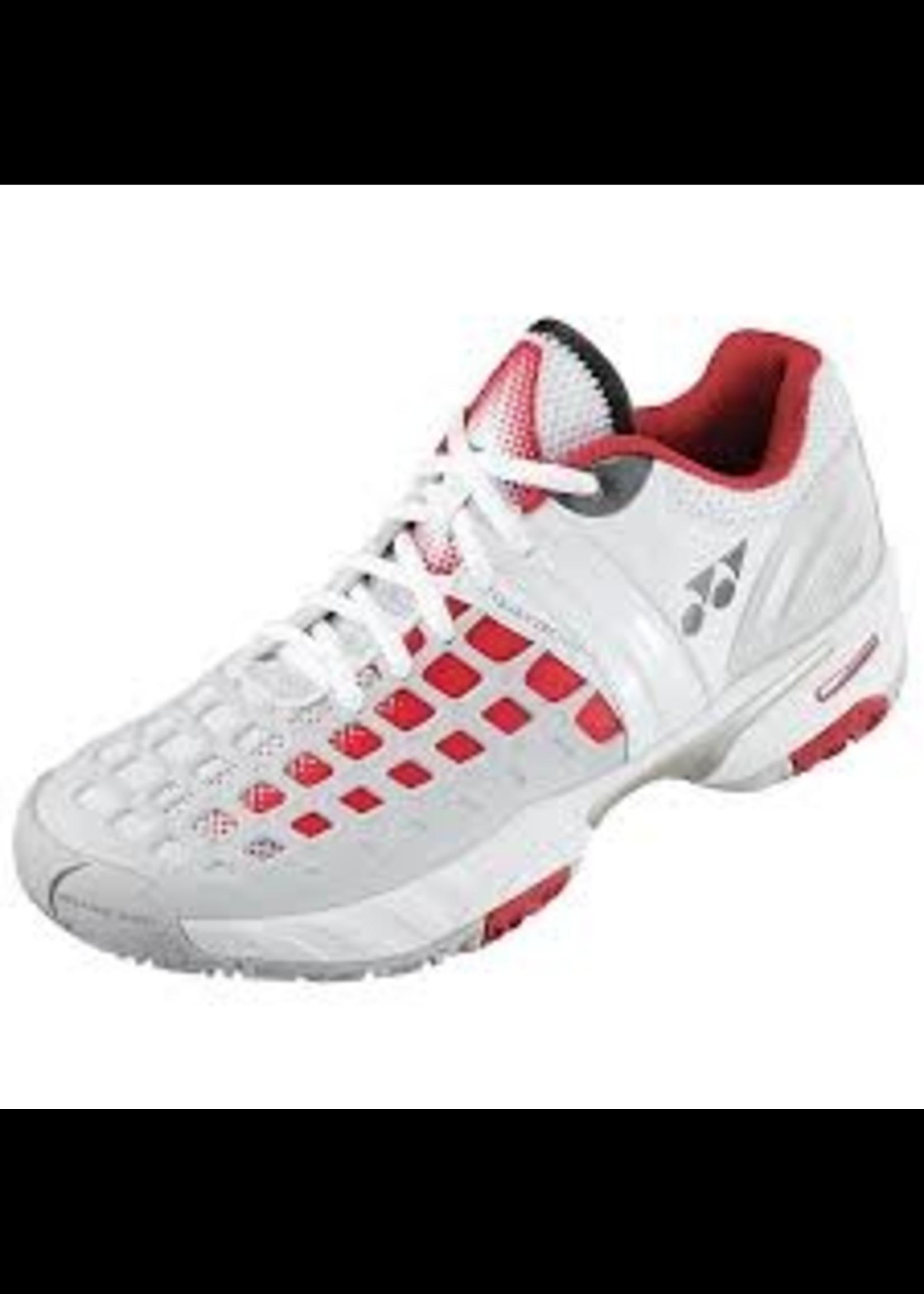 Yonex Yonex SHT-PROEX Mens Tennis Shoe White/Red 8