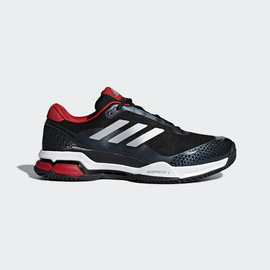 Adidas Adidas Mens Barricade Club Tennis Shoe (2018) Black 10