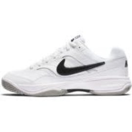 Nike Mens Court Lite Tennis Shoe White/Black/Grey 11