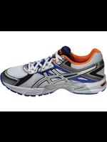 Asics Asics Gel trounce 2 mens running shoe snow/white/blue 6