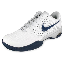 Nike Air Court Ballistic Mens Court Shoe White/Blue 6.5