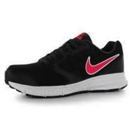 Nike Downshifter 6 Ladies Running Shoe Black/White/Pink 5.5