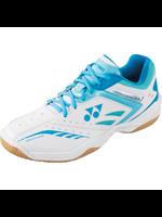 Yonex Yonex SHB 34 LX Ladies Badminton Shoe White/Light Blue 8.5UK