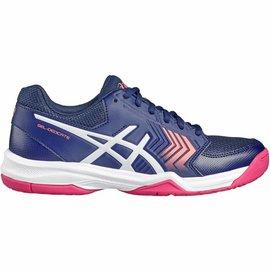 Asics Asics Gel Dedicate 5 Ladies Tennis Shoe Indigo Blue/Diva Pink 6