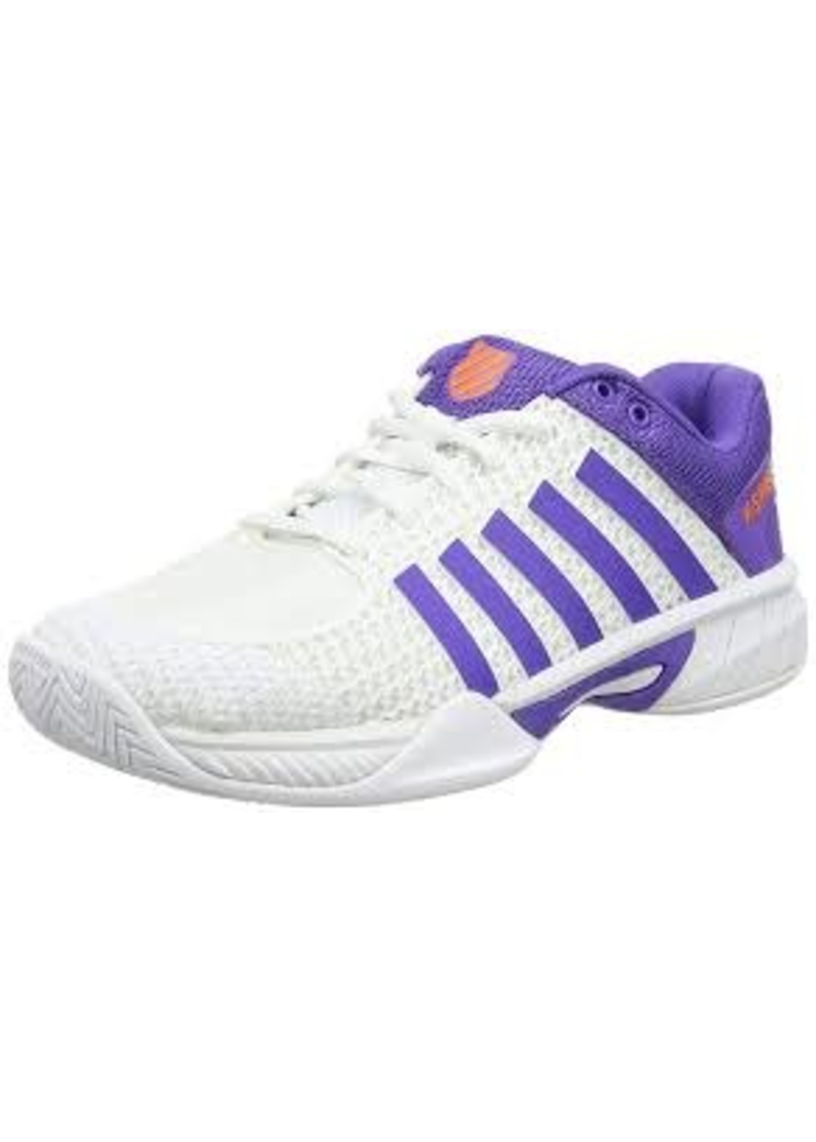 K Swiss K-Swiss Express Light Ladies Tennis Shoes (2017) White/Purple 7.5