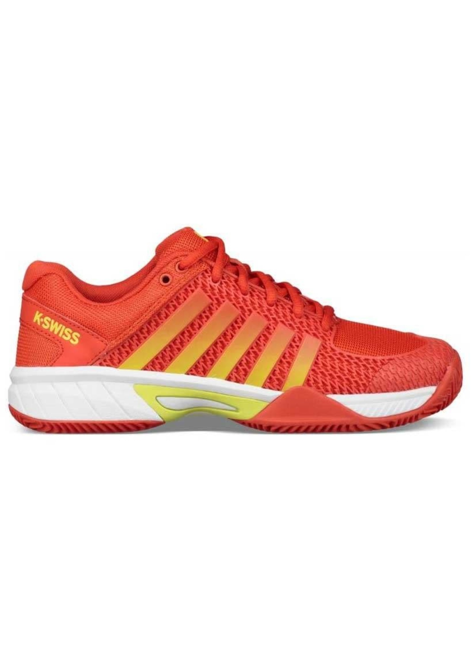 K-Swiss Ladies Express Light Tennis Shoes (2018) Fiesta/Yellow 6.5