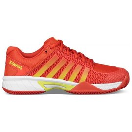 K-Swiss Ladies Express Light Tennis Shoes (2018) Fiesta/Yellow 6.5