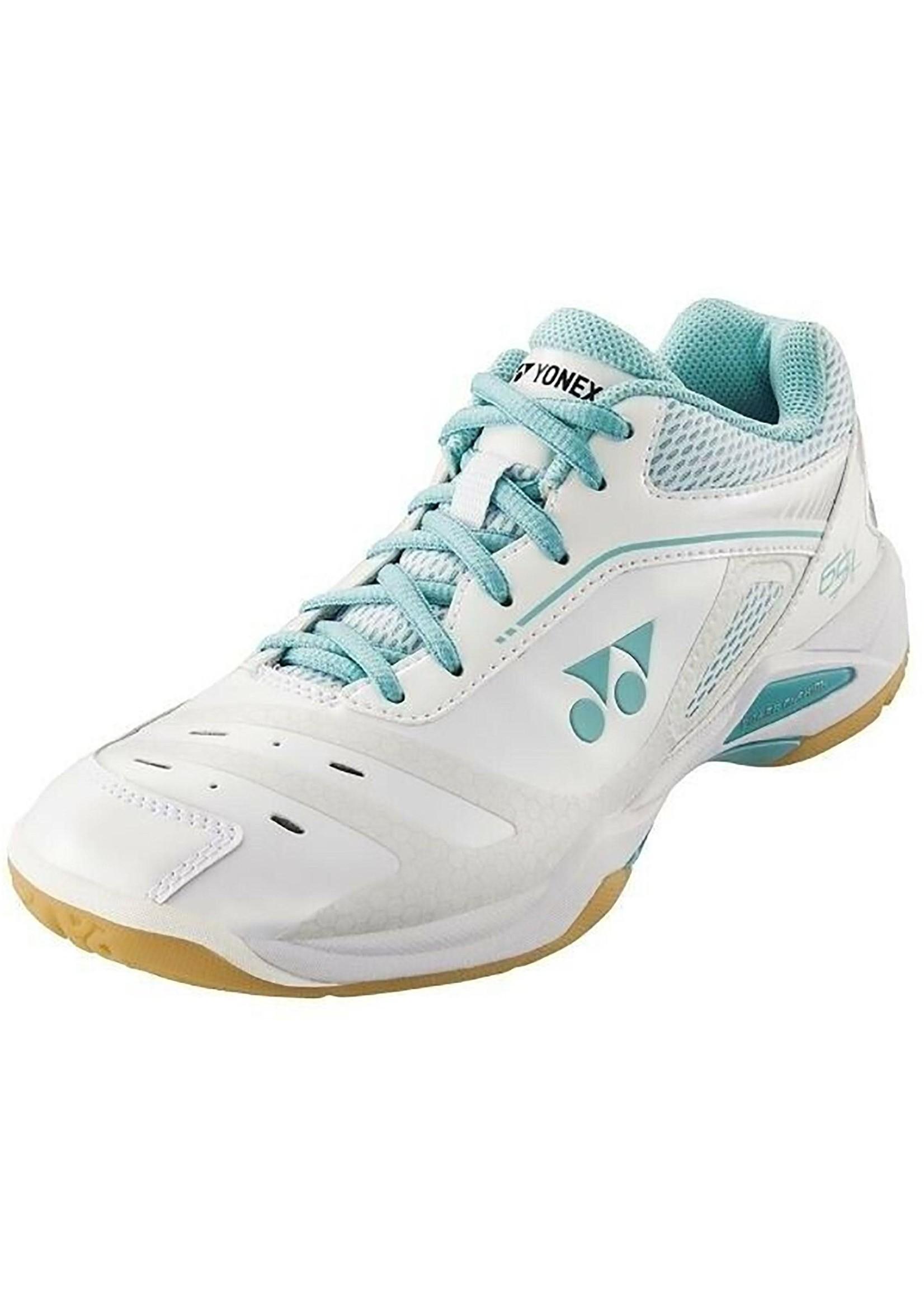 Yonex Yonex Power Cushion 65X Ladies Badminton Shoes (2019) White/Mint 7.5