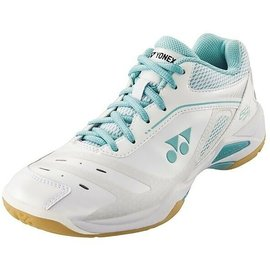 Yonex Yonex Power Cushion 65X Ladies Badminton Shoes (2019) White/Mint 7.5