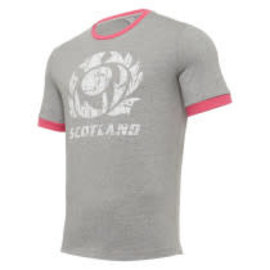 Macron Macron SRU M20 Leisure Polycotton Junior Tee (2020) Grey/Pink