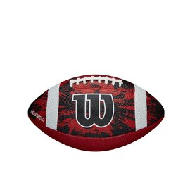 Wilson Wilson Deep Threat Red Junior American Football