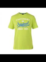 Canterbury Canterbury Original Rugby Tee Mens T-shirt. Lime Punch XL