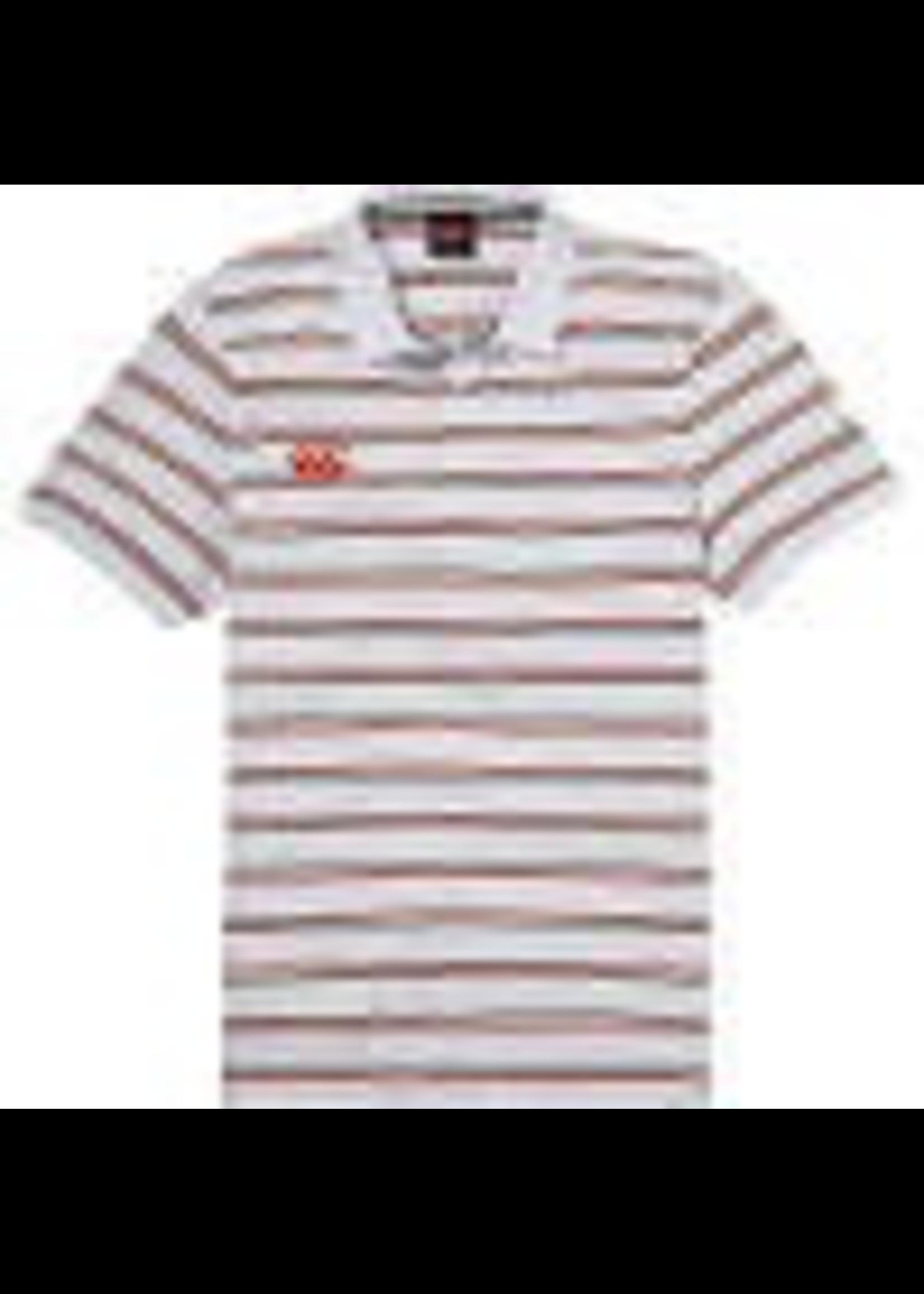Canterbury Canterbury Mens Stripe Polo Shirt White S
