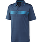 Adidas Adidas Z83403 Gents Polo Shirt Midnight Blue S