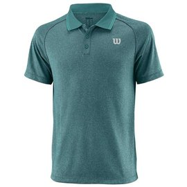 Wilson Wilson Sport Mens Core Polo Shirt (2018) Deep Lake XL