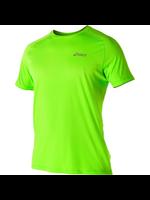 Asics Asics Mens S/S Running Top Green Gecko S