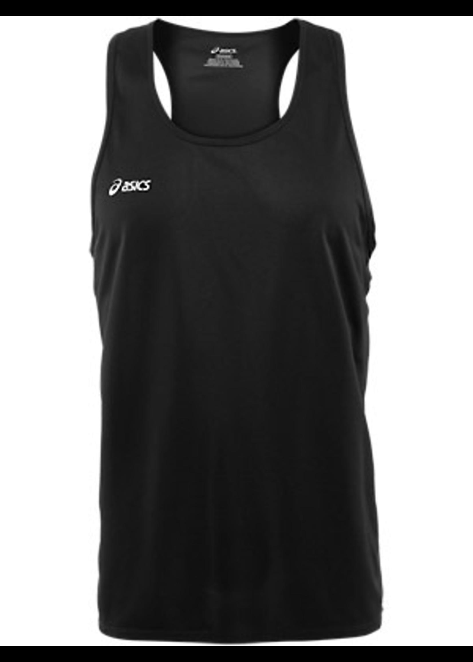 Asics Asics Mens singlet vest black XL