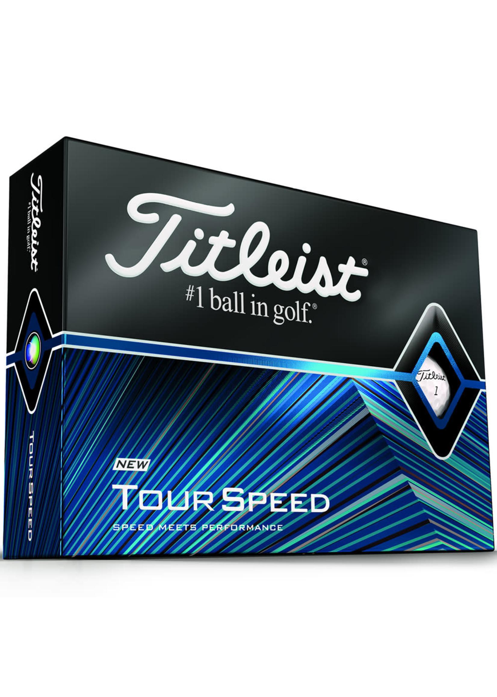 Titleist Titleist Tour Speed Golf Balls, Dozen (2021)