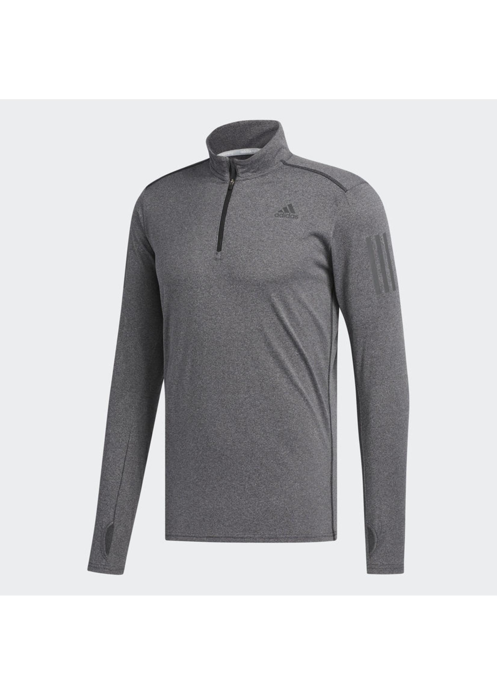 Adidas Adidas Mens Response LS Zip Tee (2018)