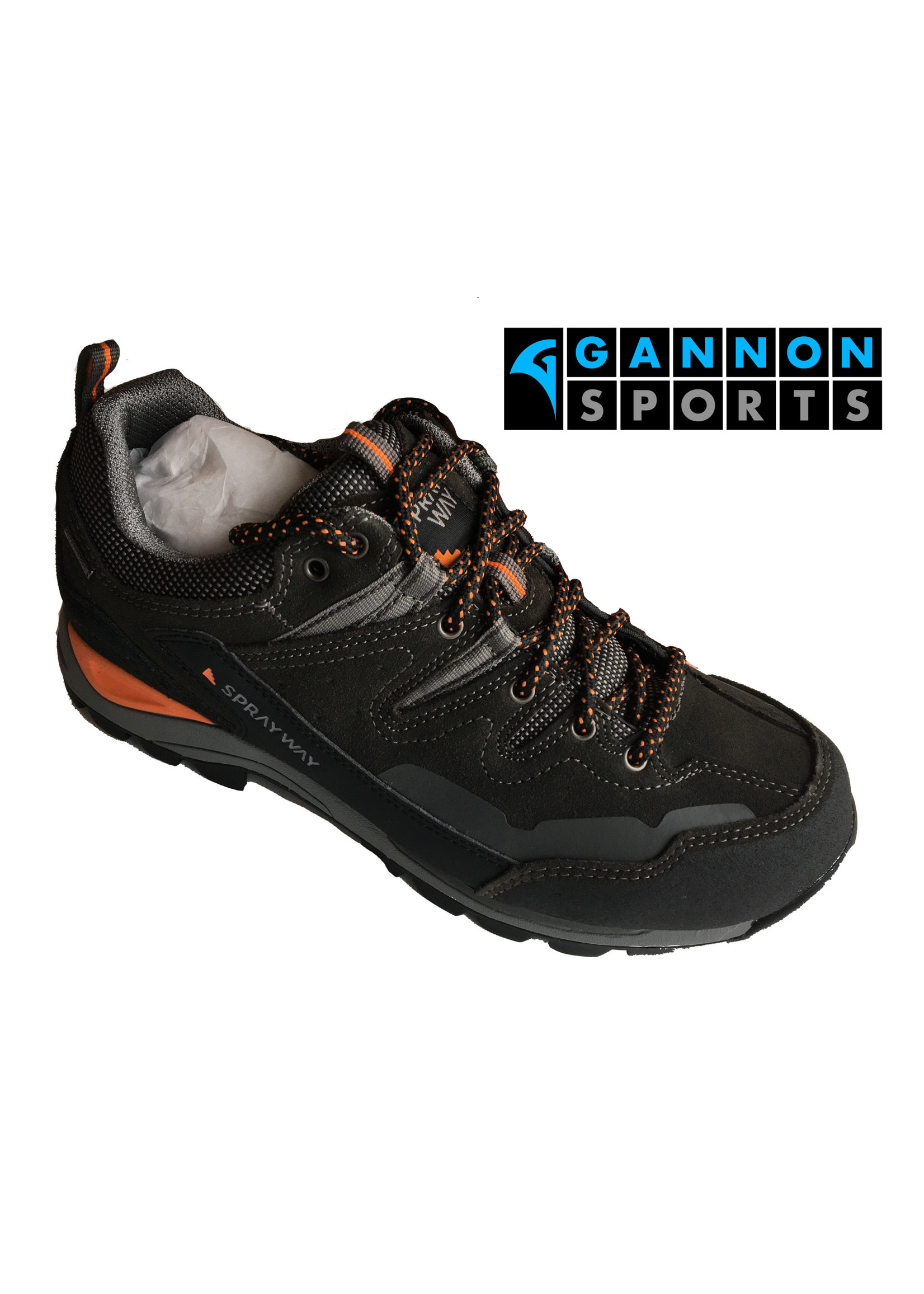spare Sprayway Oxna Low Mens Hiking Shoe - Charcoal (2020)