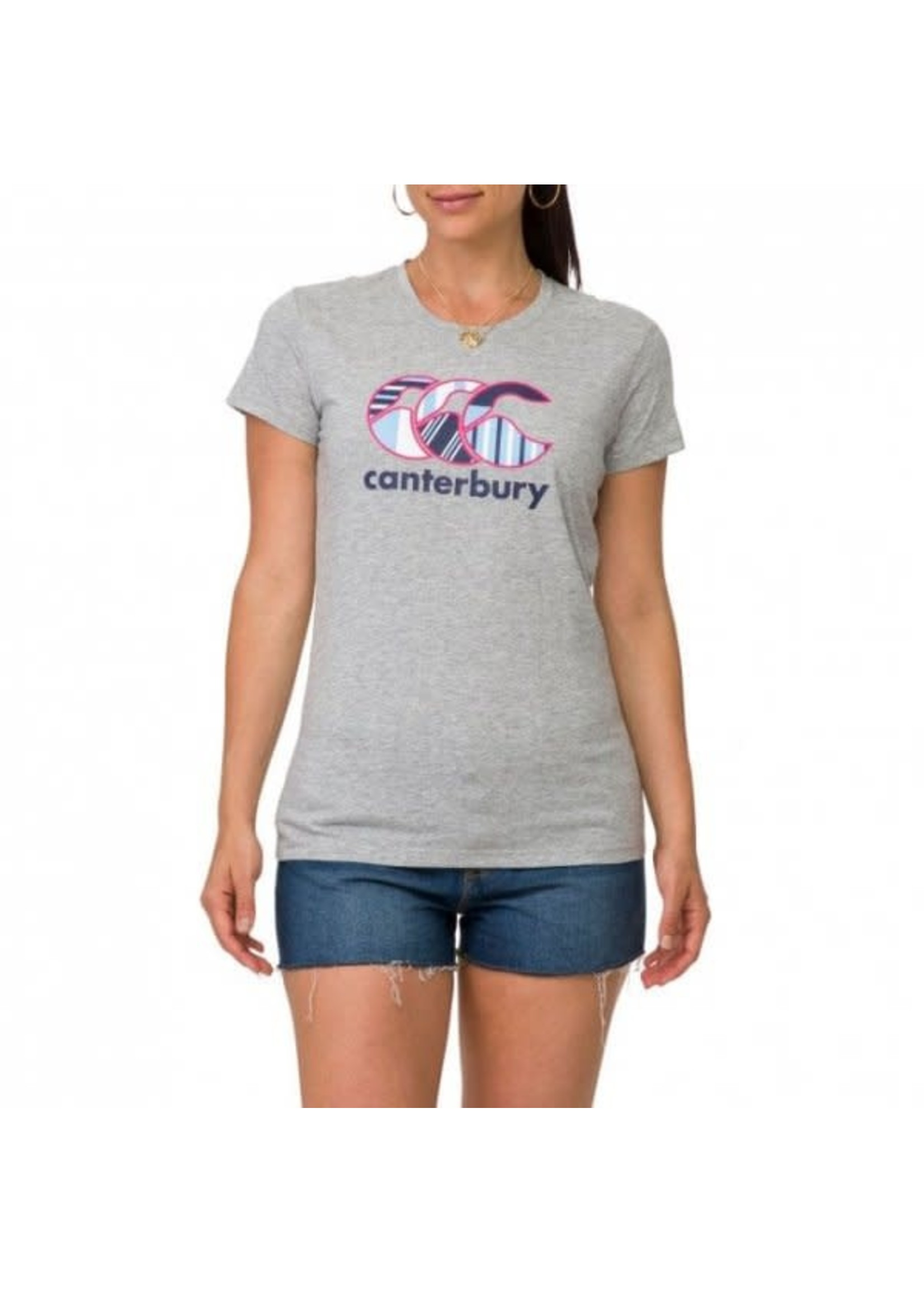 Canterbury Canterbury Ladies Uglies Tee (2020/21) Grey/Pink/Navy/Lime