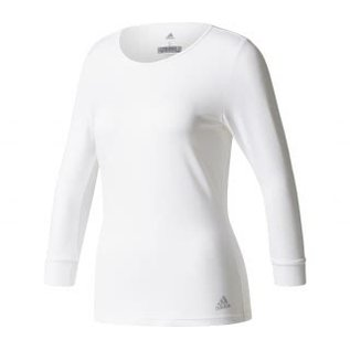 Adidas Adidas Ladies Advantage 3/4 Tee White (2018)