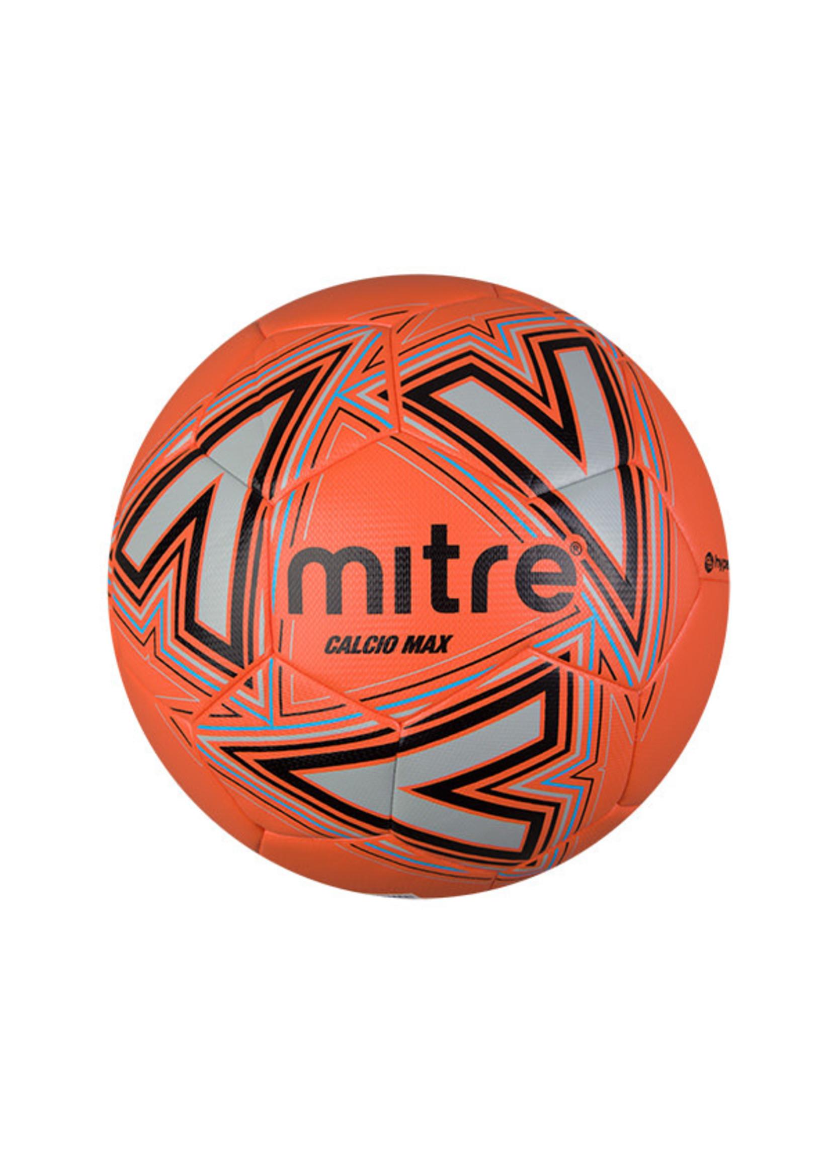 mitre Mitre Calcio Max Football, Orange/Black, Size 5