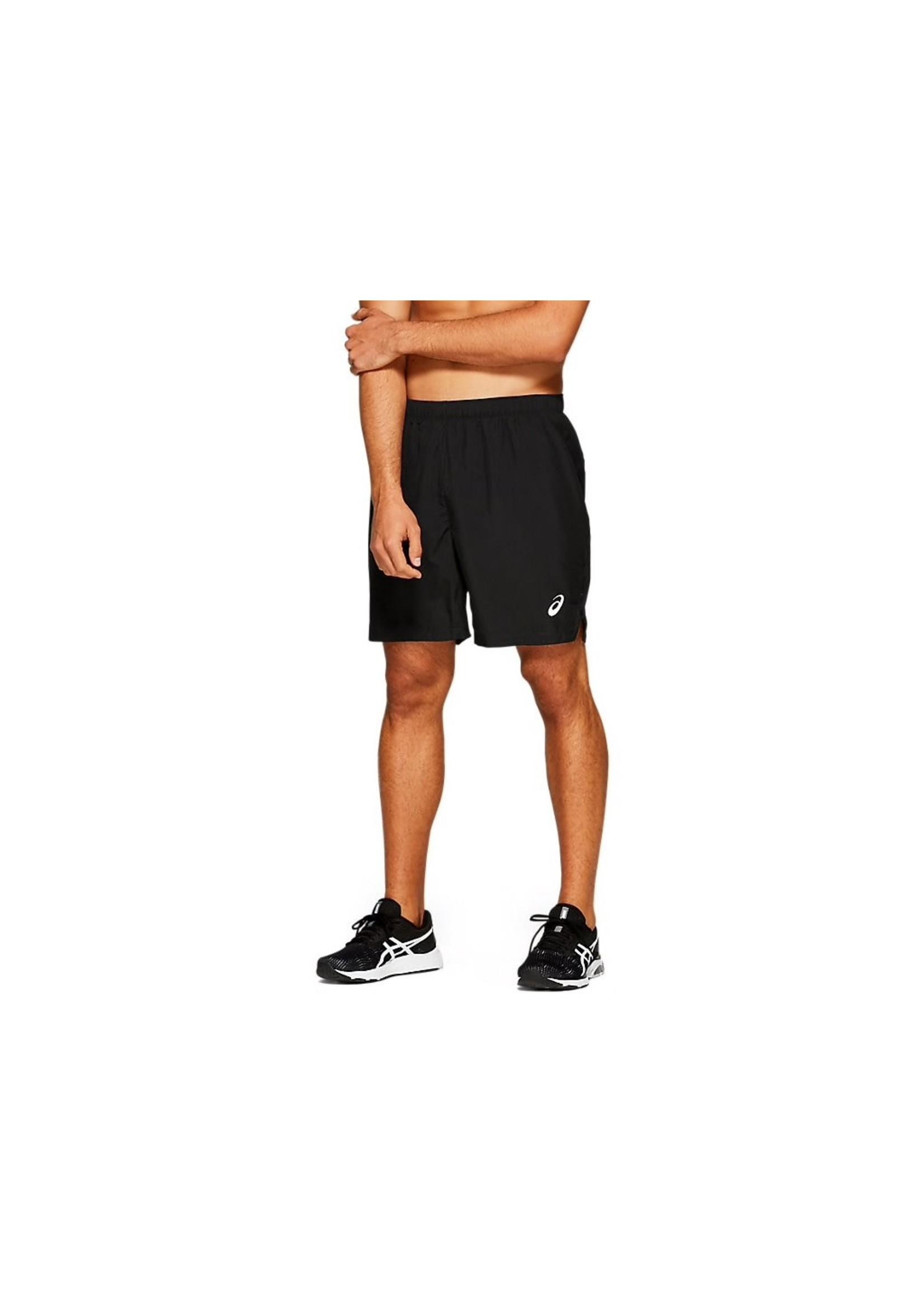 Asics Asics Mens Silver 7in Running Short,Performance Black