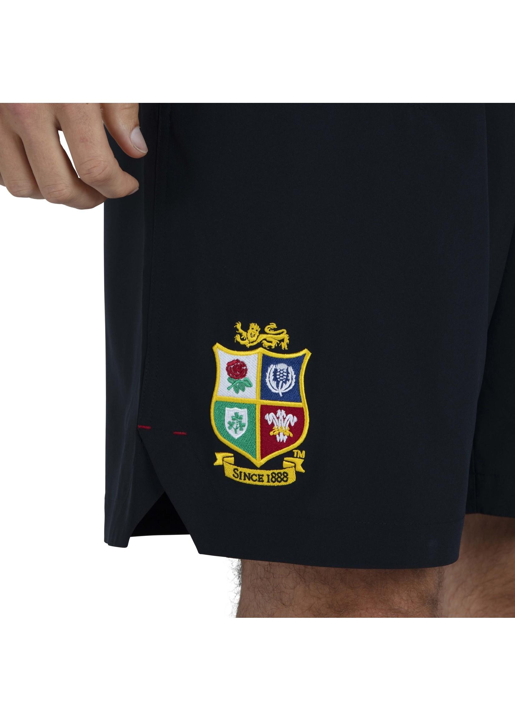 "Canterbury British & Irish Lions - 8"" Woven Gym Short (2021) - Black"