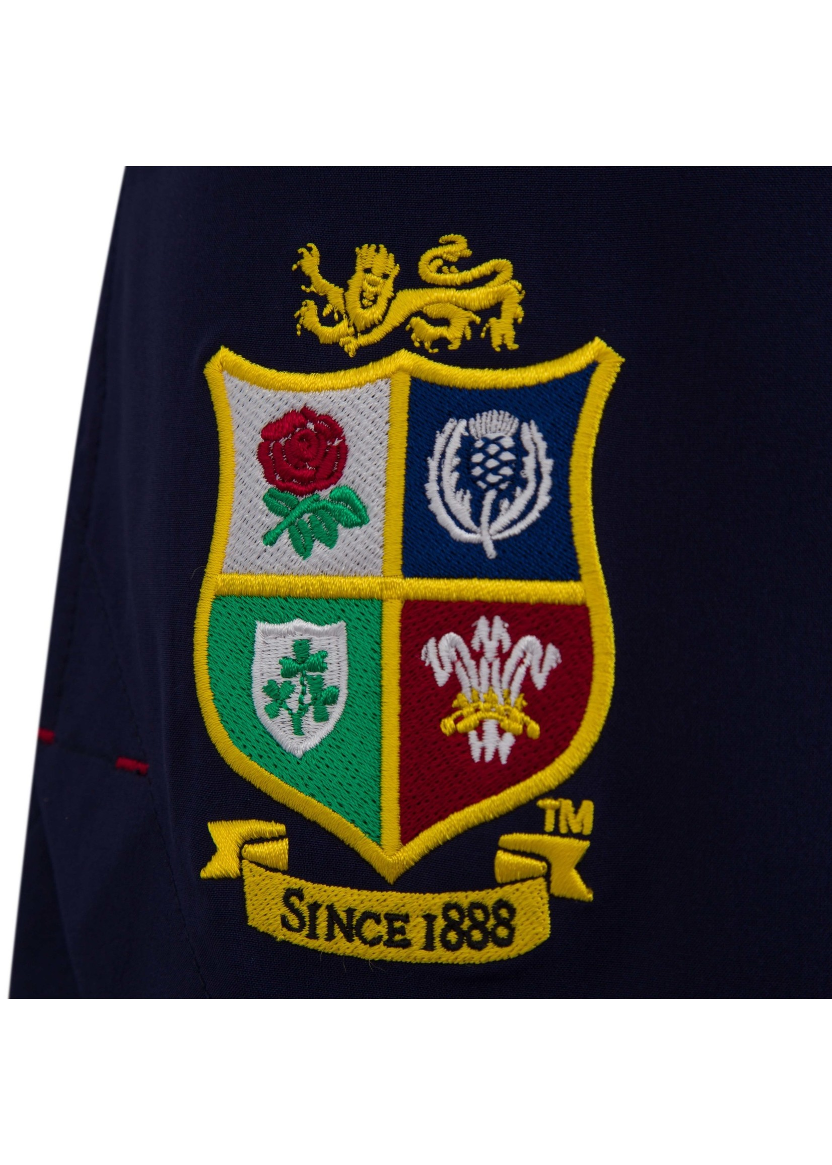 "Canterbury British & Irish Lions - Mens 8"" Woven Gym Short (2021) - Blue"