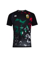 Canterbury British & Irish Lions - Mens S.Light Graphic Tee  (2021) - Black