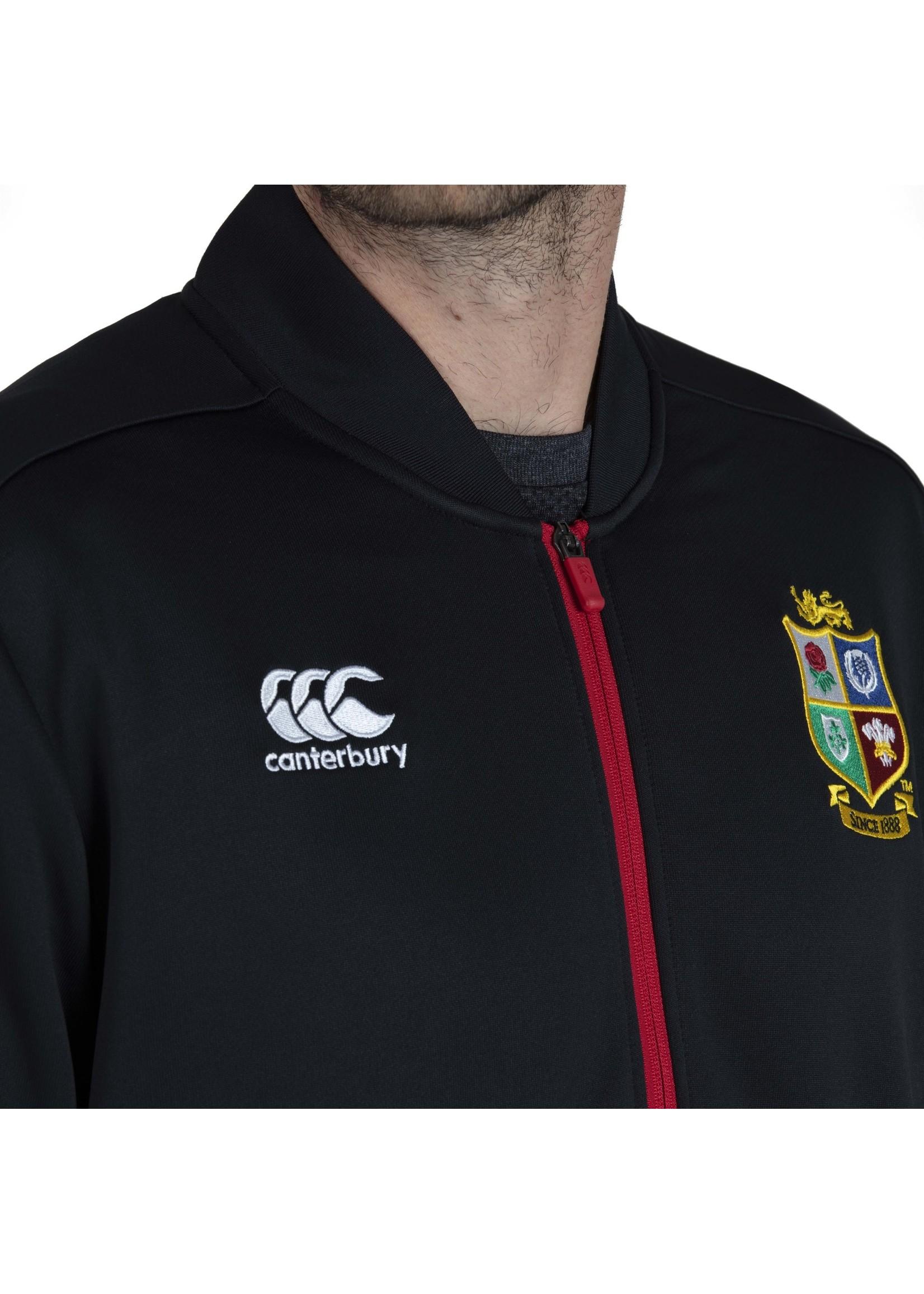 Canterbury British & Irish Lions - Mens Track Jacket (2021) - Black
